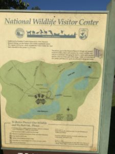 Trail Map Patuxent Wildlife visitors center